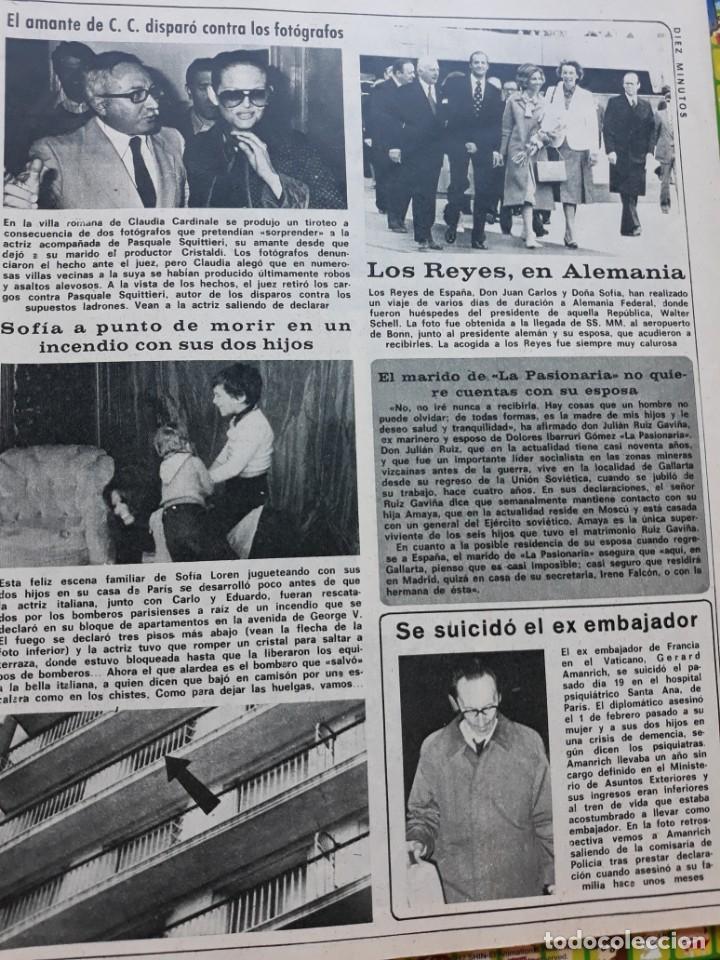 SOFIA LOREN CLAUDIA CARDINALE LOS REYES EN ALEMANIA (Coleccionismo - Revistas y Periódicos Modernos (a partir de 1.940) - Otros)