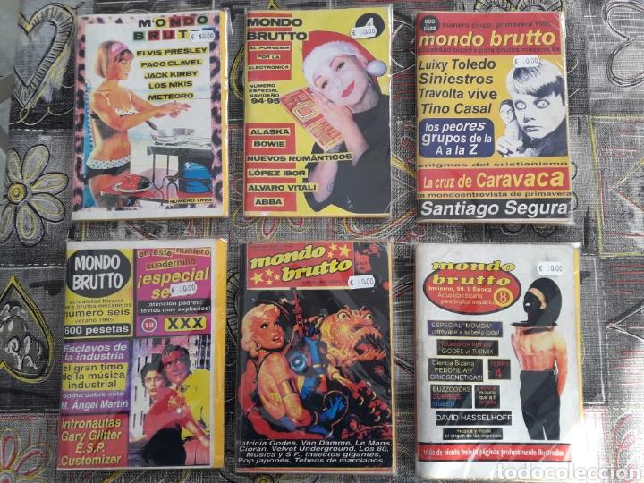 MONDO BRUTTO 3, 4, 5, 6, 7 Y 8 ORIGINALES DE EPOCA (Coleccionismo - Revistas y Periódicos Modernos (a partir de 1.940) - Otros)