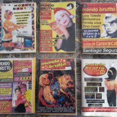 Coleccionismo de Revistas y Periódicos: MONDO BRUTTO 3, 4, 5, 6, 7 Y 8 ORIGINALES DE EPOCA. Lote 143147766