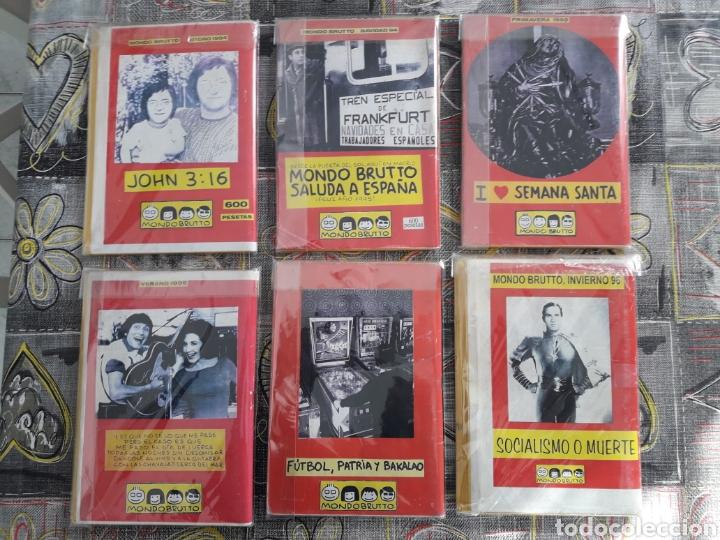 Coleccionismo de Revistas y Periódicos: Mondo Brutto 3, 4, 5, 6, 7 y 8 originales de epoca - Foto 2 - 143147766