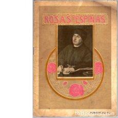 Coleccionismo de Revistas y Periódicos: ROSAS Y ESPINAS. AÑO II. NÚM. 14. FEBRERO DE 1916. Lote 100024055