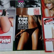 Coleccionismo de Revistas y Periódicos: LOTE DE SUPLEMENTOS DE FHM. Lote 143210574