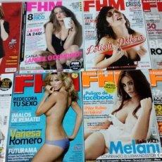 Coleccionismo de Revistas y Periódicos: LOTE FHM. Lote 143211514
