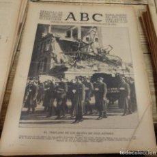 Coleccionismo de Revistas y Periódicos: ABC,SEVILLA, 1 DE DICIEMBRE DE 1939. TRASLADO DE LOS RESTOS MORTALES DE JOSE ANTONIO.15 PAGINAS. Lote 143267314