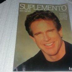 Coleccionismo de Revistas y Periódicos: 8 DE MARZO AÑO 1992 SUPLEMENTO SEMANAL NÚMERO 228 WARREN BEATTY RONDA ALEJANDRA GREPI . Lote 143335102