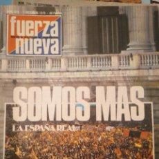 Coleccionismo de Revistas y Periódicos: FUERZA NUEVA 673 DICIEMBRE 1979 FALANGE FRANQUISMO. Lote 143335390