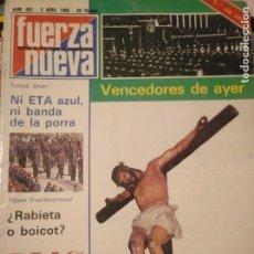 Coleccionismo de Revistas y Periódicos: FUERZA NUEVA 691 ABRIL 1980 FALANGE FRANQUISMO. Lote 143337078