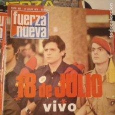 Coleccionismo de Revistas y Periódicos: FUERZA NUEVA 601 JULIO 1978. Lote 143340118