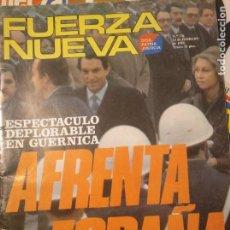 Coleccionismo de Revistas y Periódicos: FUERZA NUEVA 736 FEBRERO 1981 FALANGE FRANQUISMO. Lote 143341054