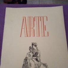 Coleccionismo de Revistas y Periódicos: ARTE REVISTA MENSUAL N 1 1944 BARCELONA. Lote 143414530