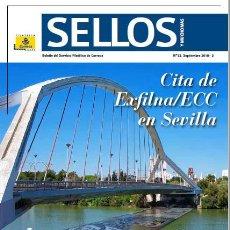 Coleccionismo de Revistas y Periódicos: REVISTA 'SELLOS Y MUCHO MÁS', Nº 53. SEPTIEMBRE 2018. ACTUALIDAD FILATÉLICA. NUEVA.. Lote 143532822