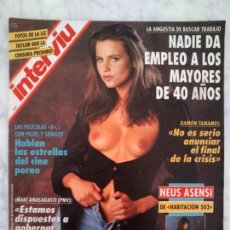 Colecionismo de Revistas e Jornais: INTERVIU - 1993 - NEUS ASENSI, LIZ TAYLOR, ÁNGELES MARTÍN, MIRANDA (ANDREA DI PIETRI). Lote 39013362
