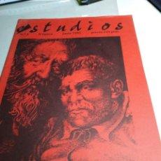 Coleccionismo de Revistas y Periódicos: ESTUDIOS REVISTA ECLECTICA REVISTA ANARQUISTA 1995 N 3 II EPOCA JUNIO 1995. Lote 143634706