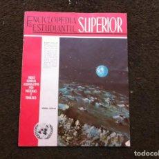 Coleccionismo de Revistas y Periódicos: ENCICLOPEDIA ESTUDIANTIL SUPERIOR. EDITORIAL CODEX (ARGENTINA) ÍNDICE GENERAL.... Lote 143705730