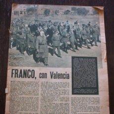 Coleccionismo de Revistas y Periódicos: LEVANTE - EXTRAORDINARIO - RIADA DE VALENCIA DEL 14 DE OCTUBRE DE 1957. Lote 143745062