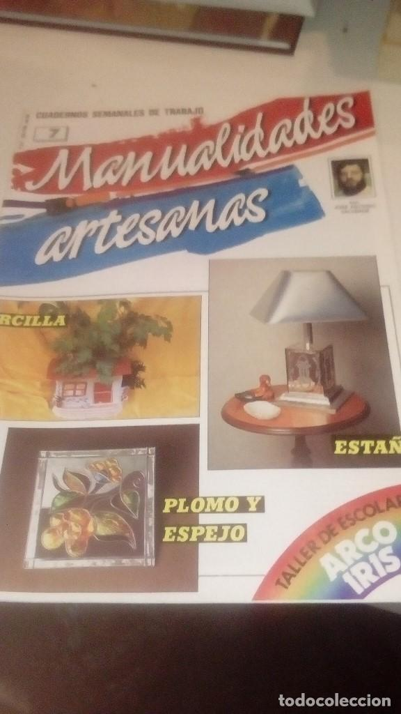 G-XXU8U LOTE DE 11 REVISTAS MANUALIDADES ARTESANAS LOS DE FOTO (Coleccionismo - Revistas y Periódicos Modernos (a partir de 1.940) - Otros)