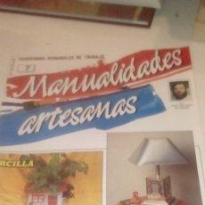 Coleccionismo de Revistas y Periódicos: G-XXU8U LOTE DE 11 REVISTAS MANUALIDADES ARTESANAS LOS DE FOTO. Lote 143747170