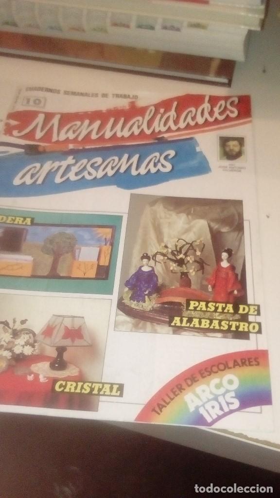 Coleccionismo de Revistas y Periódicos: G-XXU8U LOTE DE 11 REVISTAS MANUALIDADES ARTESANAS LOS DE FOTO - Foto 4 - 143747170