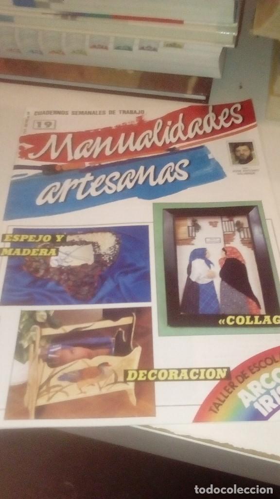 Coleccionismo de Revistas y Periódicos: G-XXU8U LOTE DE 11 REVISTAS MANUALIDADES ARTESANAS LOS DE FOTO - Foto 7 - 143747170