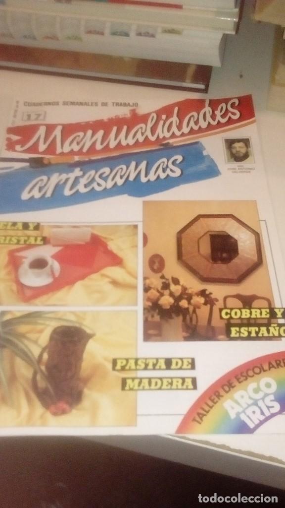 Coleccionismo de Revistas y Periódicos: G-XXU8U LOTE DE 11 REVISTAS MANUALIDADES ARTESANAS LOS DE FOTO - Foto 8 - 143747170