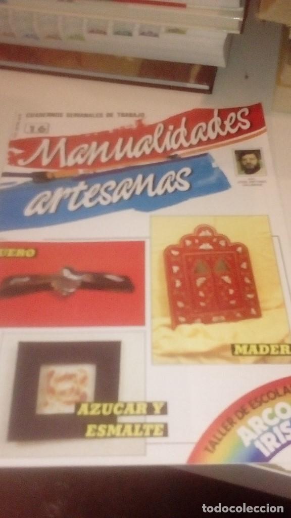 Coleccionismo de Revistas y Periódicos: G-XXU8U LOTE DE 11 REVISTAS MANUALIDADES ARTESANAS LOS DE FOTO - Foto 10 - 143747170