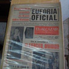 Coleccionismo de Revistas y Periódicos: PERIÓDICO EL ALCÁZAR 18 JULIO 1970. Lote 143765206