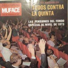 Coleccionismo de Revistas y Periódicos: REVISTA MUFACE N°15 AÑO 1980. Lote 143774046