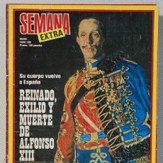 Coleccionismo de Revistas y Periódicos: REVISTA SEMANA (EXTRA). ENERO 1980. Lote 143802546