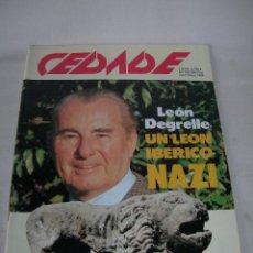 Coleccionismo de Revistas y Periódicos: REVISTA CEDADE Nº 160 DE ABRIL - MAYO DE 1988 - NACIONALSOCIALISTA - EJEMPLAR ESPECIAL DOBLE -. Lote 143883222