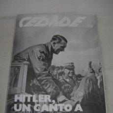 Coleccionismo de Revistas y Periódicos: REVISTA CEDADE Nº 163 DE SEPTIEMBRE DE 1988 - NACIONALSOCIALISTA -. Lote 143883374