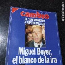 Coleccionismo de Revistas y Periódicos: REVISTA. CAMB16. 15 DE MAYO DE 1989. Nº 911. DE SUPERMINISTRO A SUPERHUMILLADO. LEER.. Lote 143941338