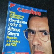 Coleccionismo de Revistas y Periódicos: REVISTA. CAMB16. 5 DE OCTUBRE DE 1990. Nº 950. TODOS LOS HOMBRES DEL VICEPRESIDENTE. LEER.. Lote 143941426