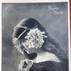 Colecionismo de Revistas e Jornais: NUEVO MUNDO Nº 882 - 1 DICIEMBRE 1910 - LA IMPOSICIÓN DE LA CORBATA DE SAN FERNANDO. Lote 143994994