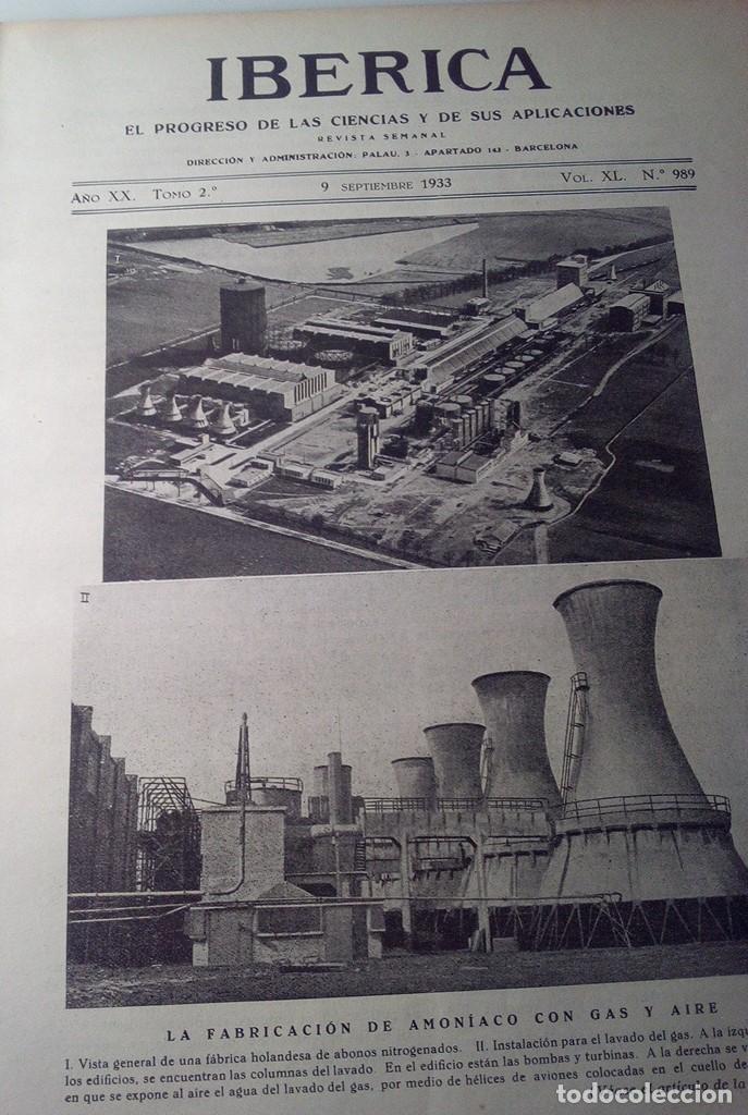 IBERICA Nº989 1933 LAS PIRITAS EN ESPAÑA: ESPERANZA COOPER HUELVA COOPER -RIOTINTO (Coleccionismo - Revistas y Periódicos Antiguos (hasta 1.939))