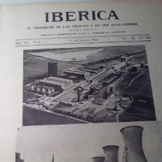 Coleccionismo de Revistas y Periódicos: IBERICA Nº989 1933 LAS PIRITAS EN ESPAÑA: ESPERANZA COOPER HUELVA COOPER -RIOTINTO. Lote 159524126