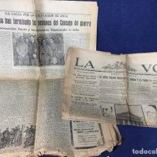 Coleccionismo de Revistas y Periódicos: PERIODICO DIARIO HERALDO DE MADRID 2 EJEMPLARES 1931 REPUBLICA ESPAÑOLA LOS CANDIDATOS DEL PUEBLO . Lote 144028294