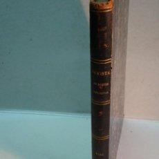 Coleccionismo de Revistas y Periódicos: REVISTA DE MONTES Y PLANTÍOS. AÑO 1885 COMPLETO. 36 NÚMEROS. (DEDICADO) (ENCUADERNADO EN 1 TOMO). Lote 144062858