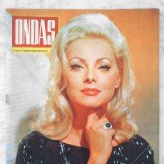 Coleccionismo de Revistas y Periódicos: ONDAS - 1967 - VIRNA LISI, SARITA MONTIEL, JUANITO VALDERRAMA, RAY CHARLES, SERRAT, PEKENIKES. Lote 49845807