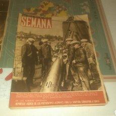 Coleccionismo de Revistas y Periódicos: REVISTA SEMANA NÚMERO 54 DE 1941. LOS U BOATS.. Lote 144146525