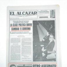 Coleccionismo de Revistas y Periódicos: PERIODICO EL ALCAZAR. 4 MARZO 1981. GABINETE DE CALVO SOTELO. CAR132. Lote 144216638