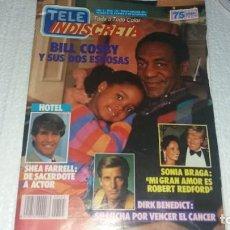 Coleccionismo de Revistas y Periódicos: REVISTA TELE INDISCRETA NÚMERO 145 AÑO 1986 POGRAMA UN DOS TRES ESTHER DEL PRADO BILL COSBY. Lote 144225706