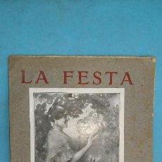 Coleccionismo de Revistas y Periódicos: REVISTA FALLERA, FALLERO FALLAS VALENCIA, LA FESTA DE SAN JUSEP 1926 , ORIGINAL , RF2. Lote 144240046