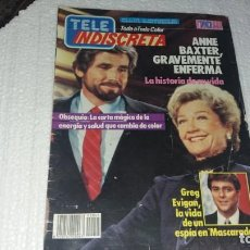 Coleccionismo de Revistas y Periódicos: REVISTA TELE INDISCRETA TELEINDISCRETA NÚMERO 45 AÑO 1984 COMIC EQUIPO A. Lote 144241494