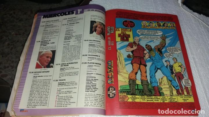 Coleccionismo de Revistas y Periódicos: Revista Tele indiscreta Teleindiscreta número 45 año 1984 COMIC equipo A - Foto 3 - 144241494