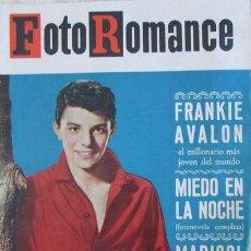 Coleccionismo de Revistas y Periódicos: REVISTA FOTOROMANCE 7 1963 TONY LEBLANC, FRANKIE AVALON, MARISOL. Lote 144257826