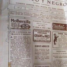 Coleccionismo de Revistas y Periódicos: BLANCO Y NEGRO REVISTA ILUSTRADA Nº 2306 29- SEPTIEMBRE -1935. Lote 144276918