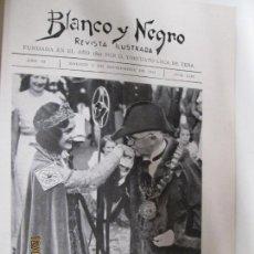 Coleccionismo de Revistas y Periódicos: BLANCO Y NEGRO REVISTA ILUSTRADA Nº 2203 08-SEPTIEMBRE- 1933. Lote 144285142