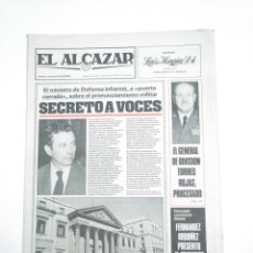 Coleccionismo de Revistas y Periódicos: PERIODICO EL ALCAZAR. 18 MARZO 1981. PROYECTO DE LEY DEL DIVORCIO. CAR132. Lote 144292602