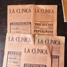 Sammeln von Zeitschriften und Zeitungen - Lote de 5 revistas La Clinica - 144358005