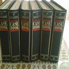 Coleccionismo de Revistas y Periódicos: LOTE DE 6 TOMOS DE LA COLECCION MURDER CASEBOOK (EN INGLES). Lote 144393482